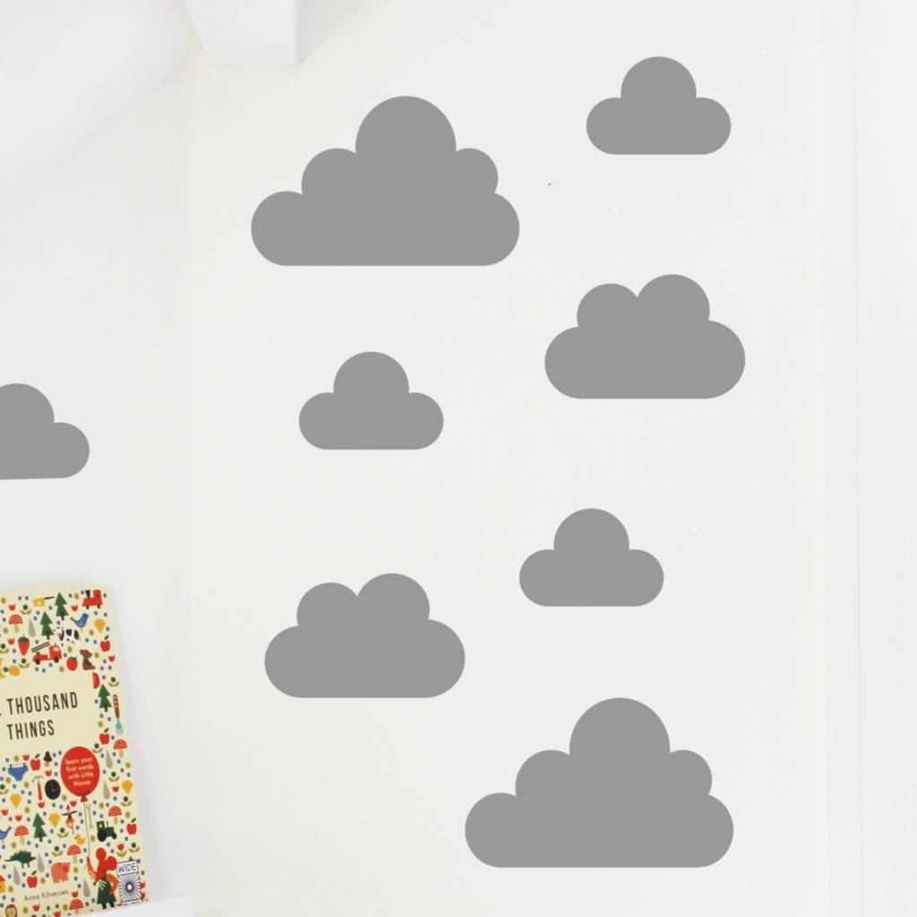 Cloud Wall Stickers By Little Chip