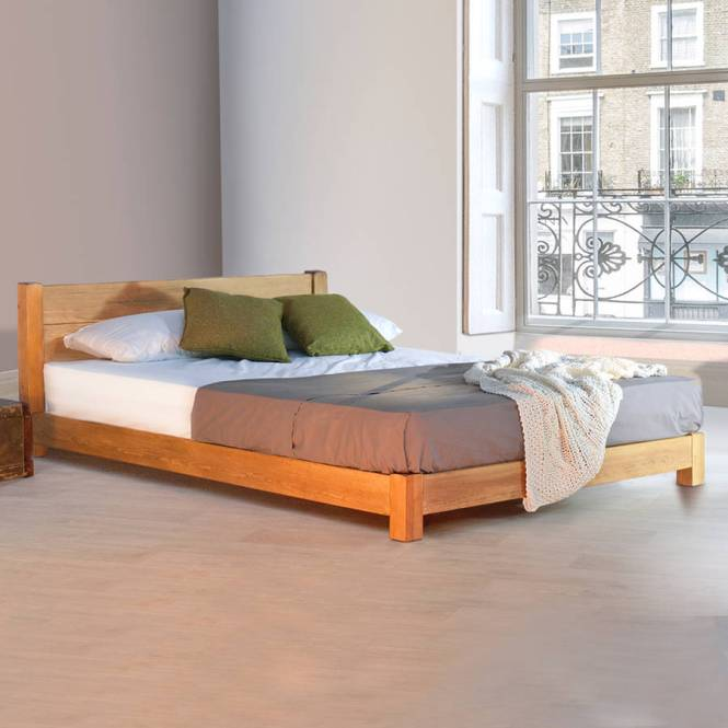 Low Oriental E Saver Wooden Bed Frame