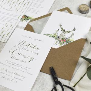 Highland Wedding Invitations More Colours