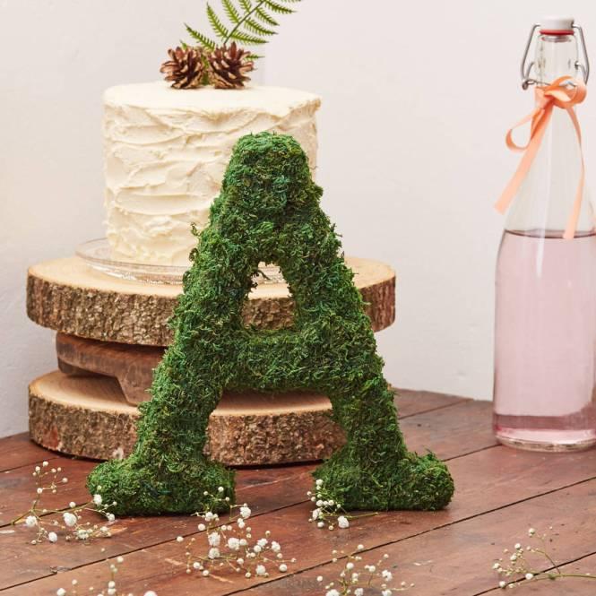 Moss Decorative Alphabet Letters By The Letter Loft
