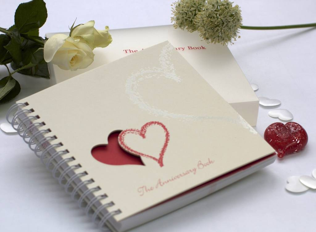 1st To 50th Wedding Anniversary Memory Book By Two Little