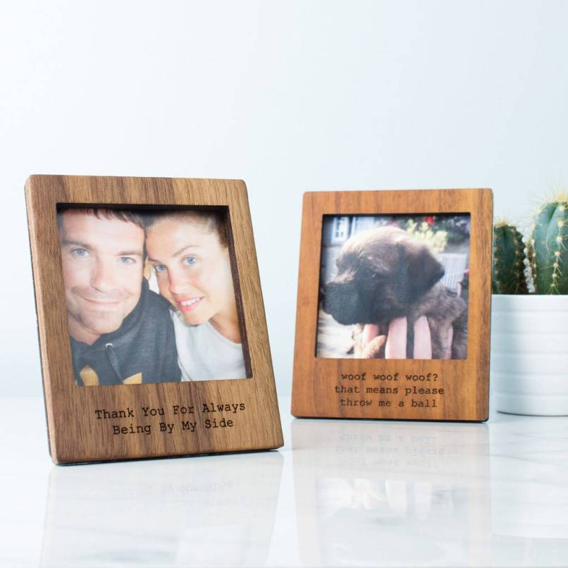 Personalised Photo Frames Wooden Frameswalls