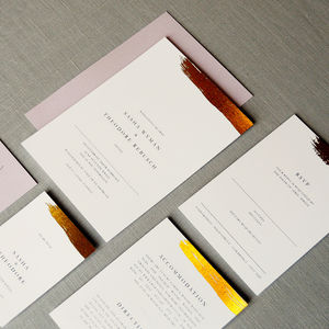 Antoite Wedding Invitation Set Order Of Service Programs