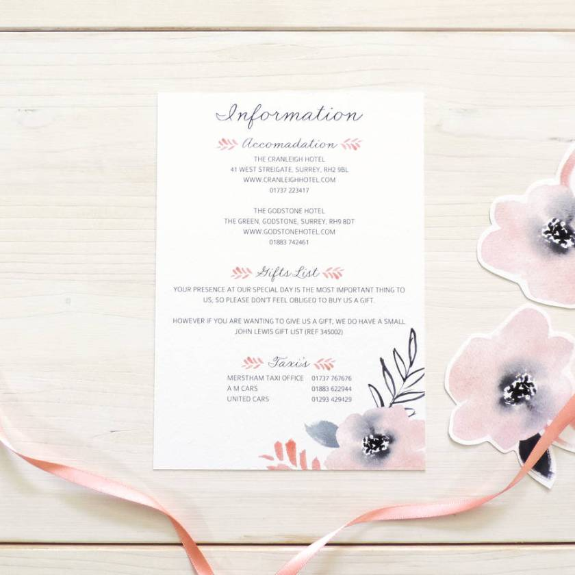 John Lewis Wedding Invites Choice Image Party Invitations Ideas Sweet Posey Fl Stationery Set By