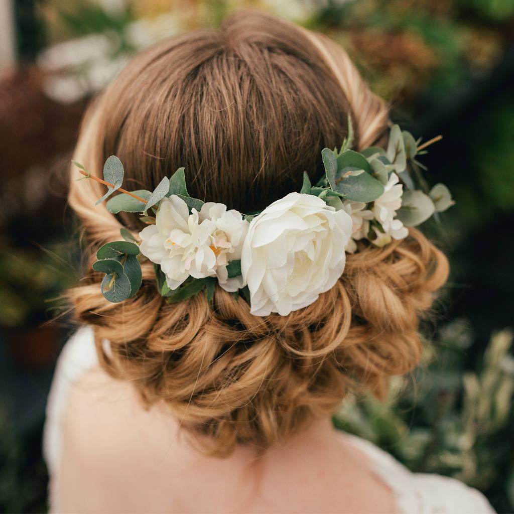 Verity Eucalyptus Hair Comb By Gypsy Rose Vintage