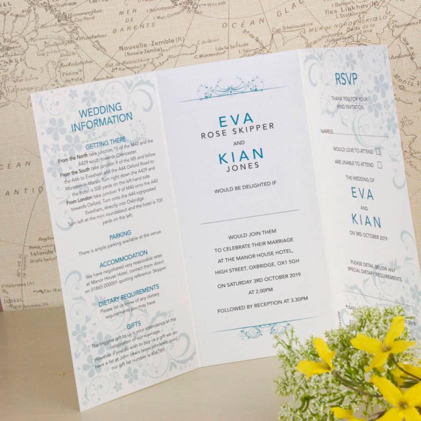 Happy Ever After Wedding Invitation