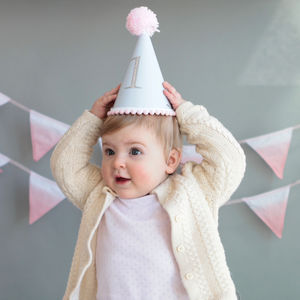 Baby S First Birthday Party Hat By Postbox Party Notonthehighstreet Com