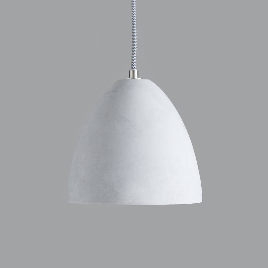 Brushed Metal Pendant Light
