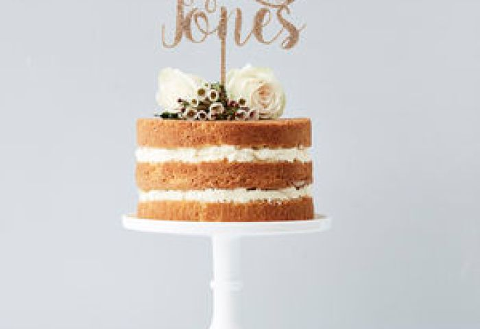 Wedding Cake Toppers And Decorations Notonthehighstreetcom