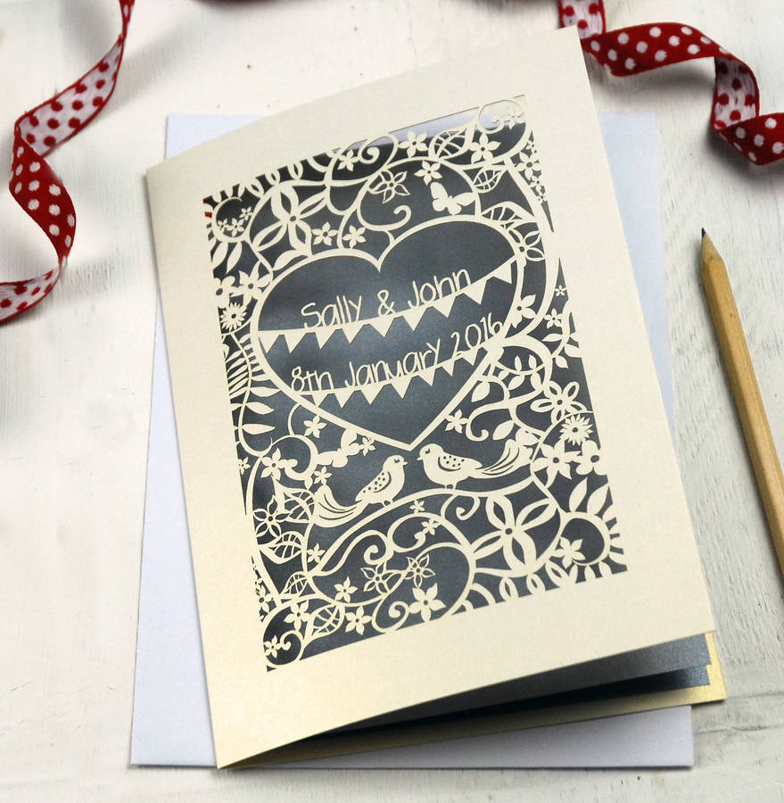 Cheap Laser Cut Wedding Invitations Uk