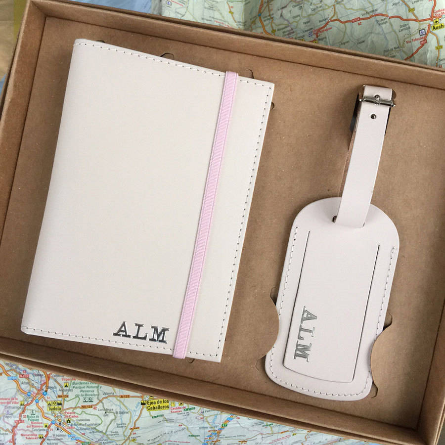 Personalised Passport Cover & Luggage Label