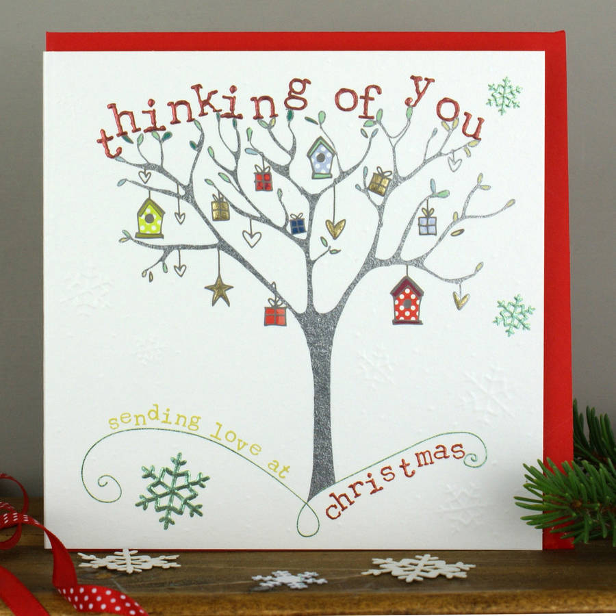 Thinking Of You Christmas Card By Molly Mae