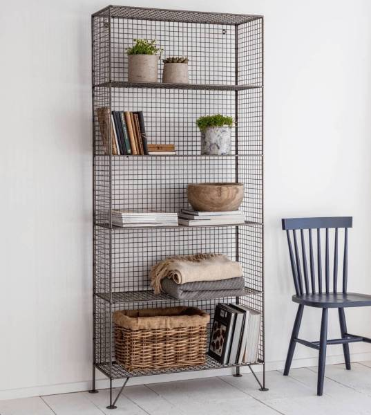 grey mesh industrial storage unit by the forest   co     Grey Mesh Industrial Storage Unit