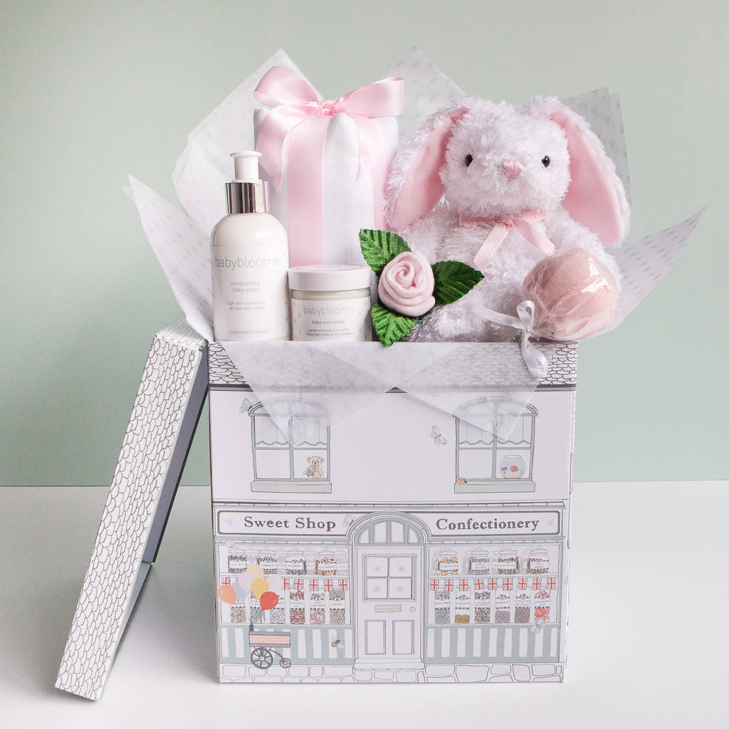 Baby Girl Baby Shower T Hamper By Babyblooms
