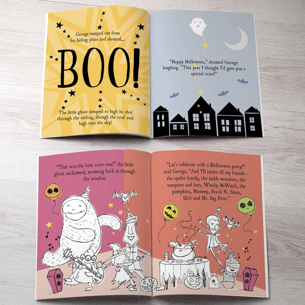 Personalised Little Ghost Story Book By Letterfest