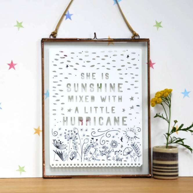Framed Gift For Daughter Or Granddaughter