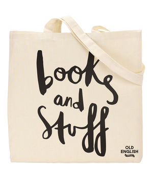 Books And Stuff Tote Bag