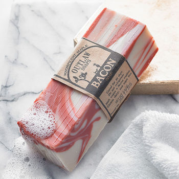 Floral Scented Bacon Soap Unique And Quirky Gift Ideas Any Odd Person Will Appreciate (Fun Gifts!)