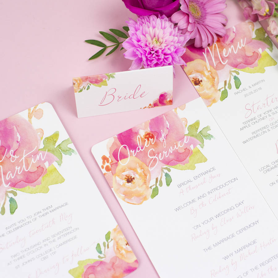 Free Wedding Invitation Sample Pack