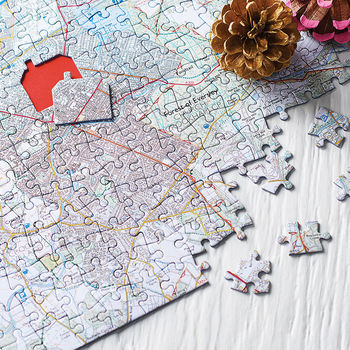Personalised Our House Map Jigsaw Unique And Quirky Gift Ideas Any Odd Person Will Appreciate (Fun Gifts!)