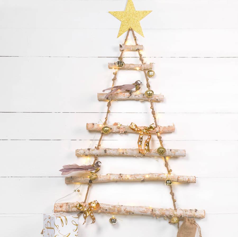 Christmas Tree Wall Hanging Lights
