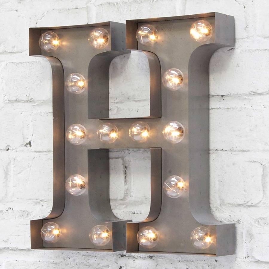 Led Light Letters