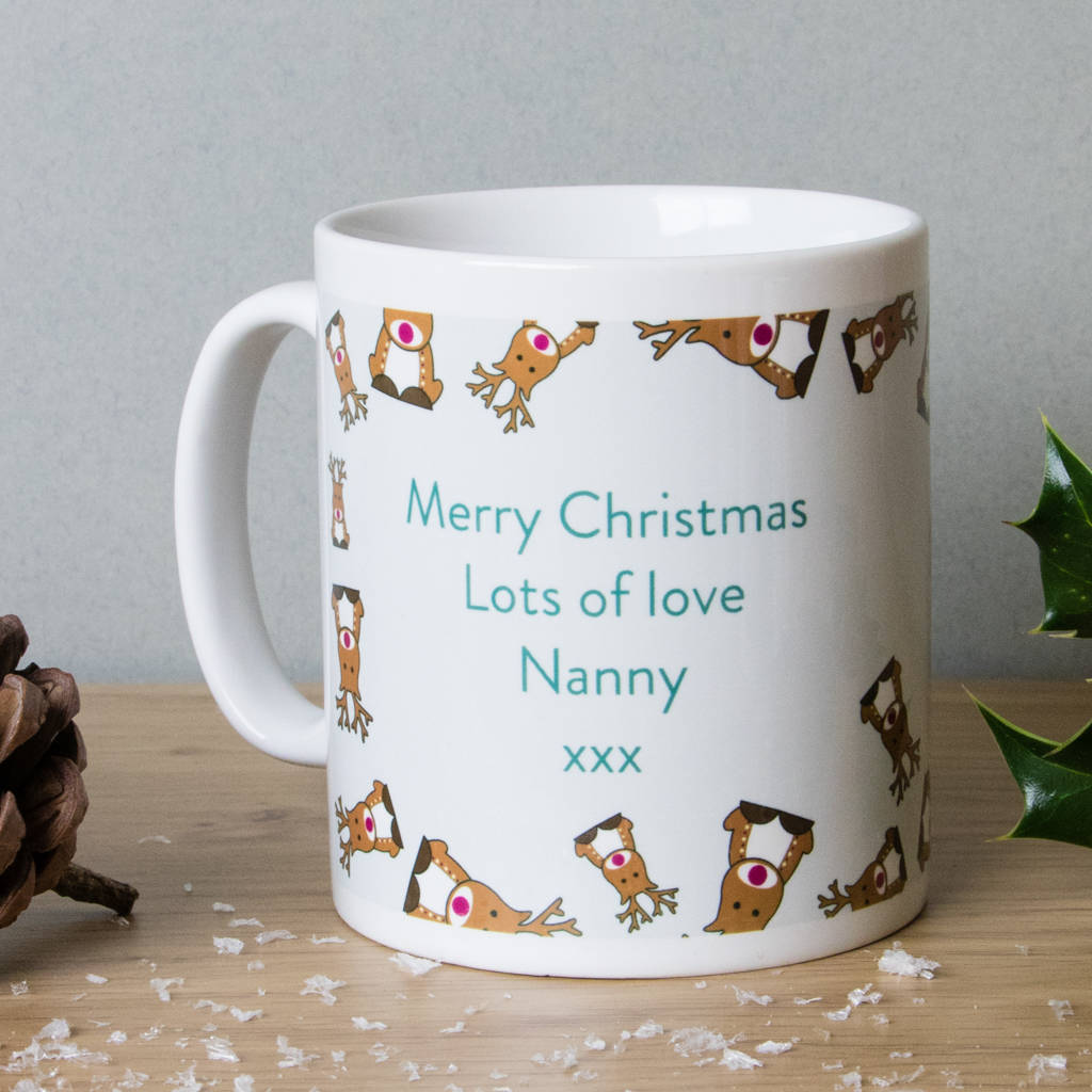 Personalised Christmas Mugs 2017 Designs By Able Labels