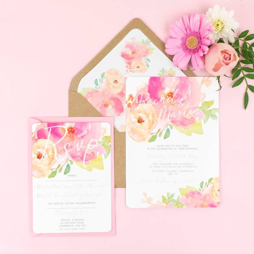 Wedding Invitations Pack Of 30