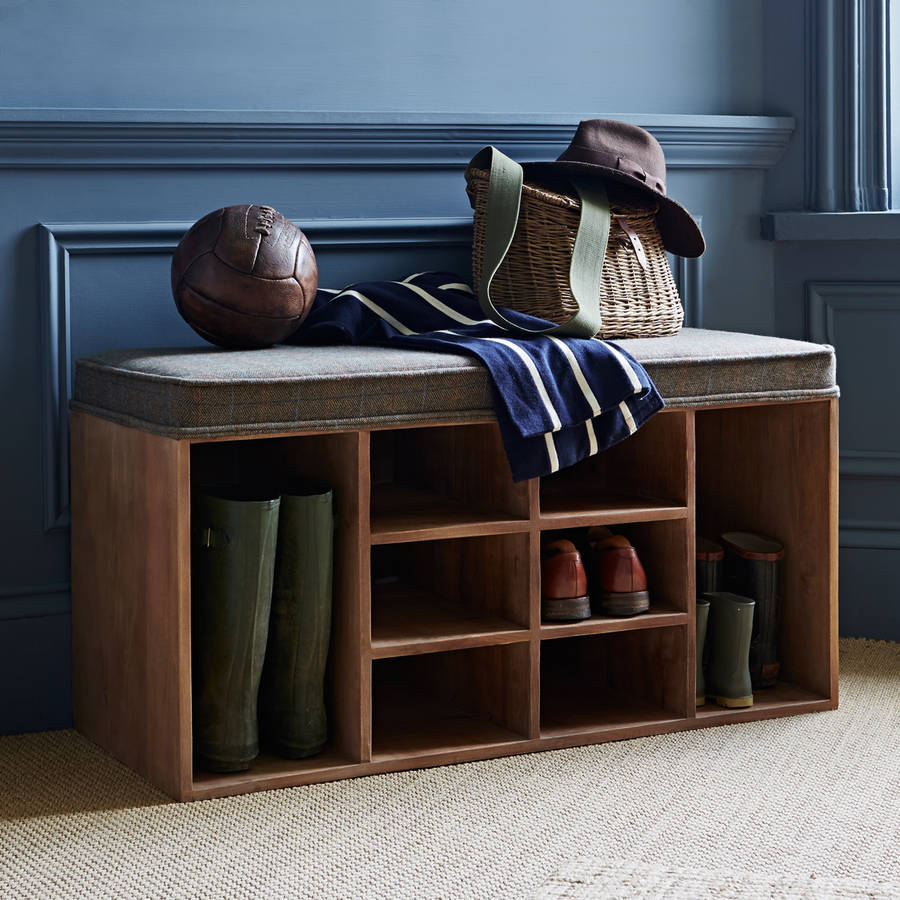 Shoe Storage Bench By Within Home Notonthehighstreet Com