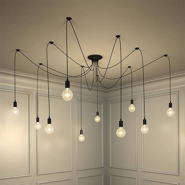 vintage spider pendant light by i love retro   notonthehighstreet com Vintage Spider Pendant Light