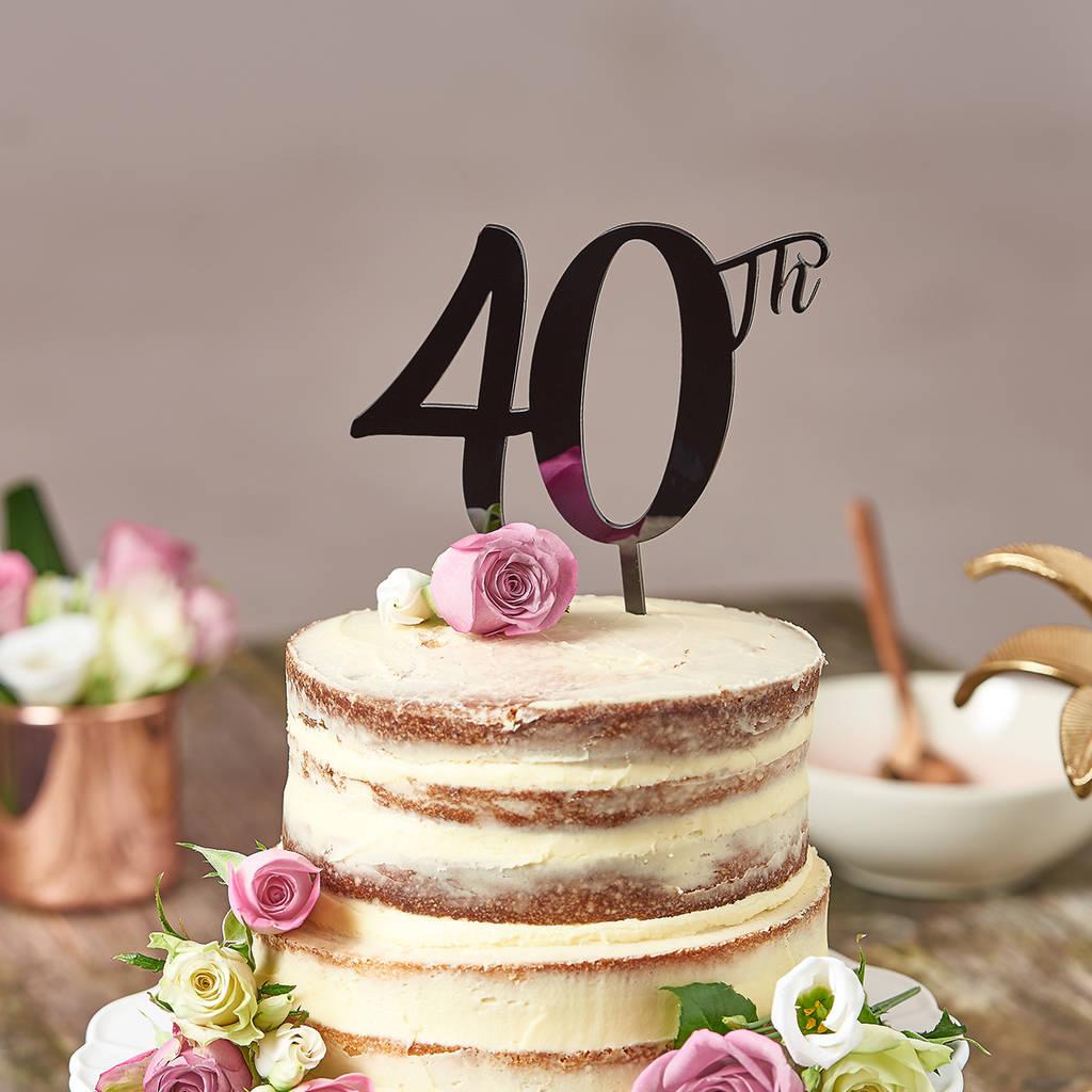 Birthday Cake Topper Ideas