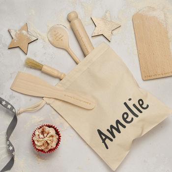 Personalised Kids Baking Set - Christmas Baking Gift Ideas