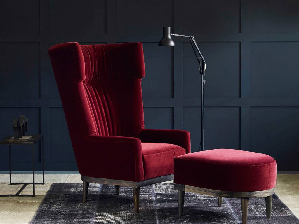 Oscar Wing Back Armchair By Love Your Home Notonthehighstreet Com