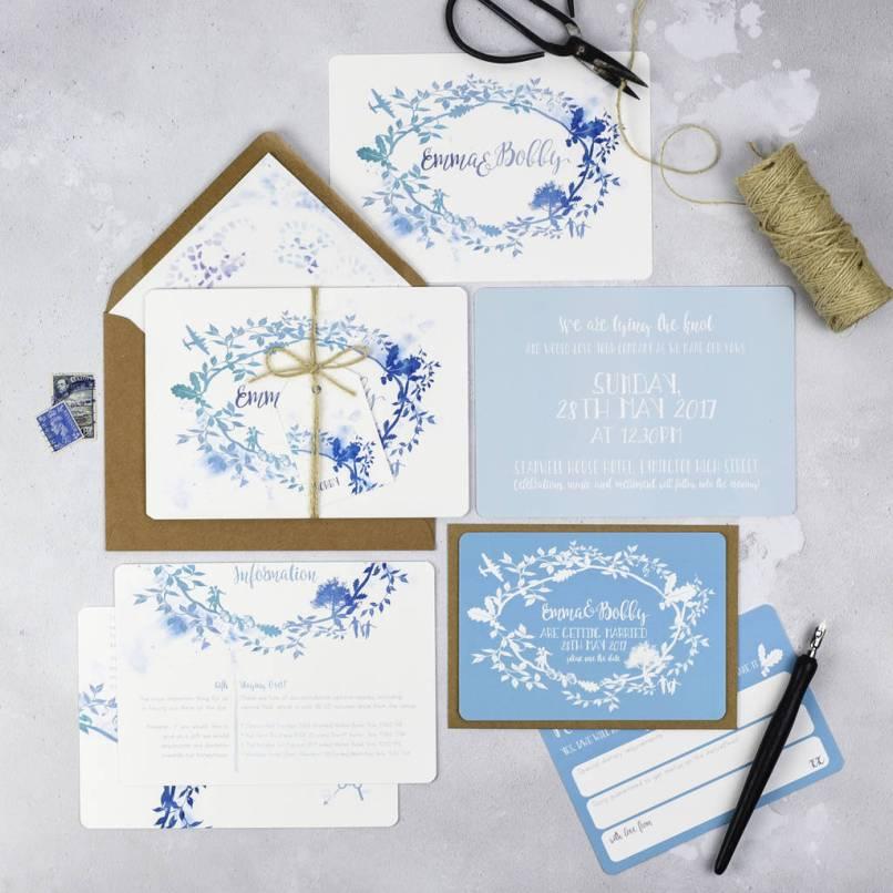Non Personalised Wedding Invitations Uk | Inviview.co