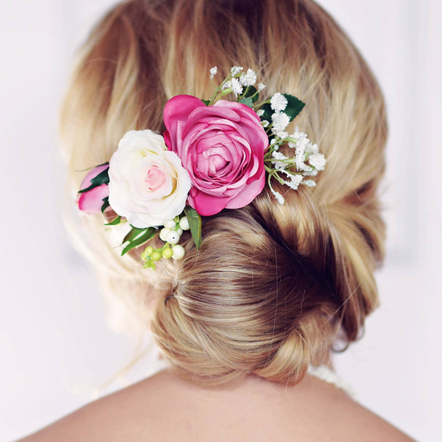 Florence Rose Hair Comb By Gypsy Rose Vintage