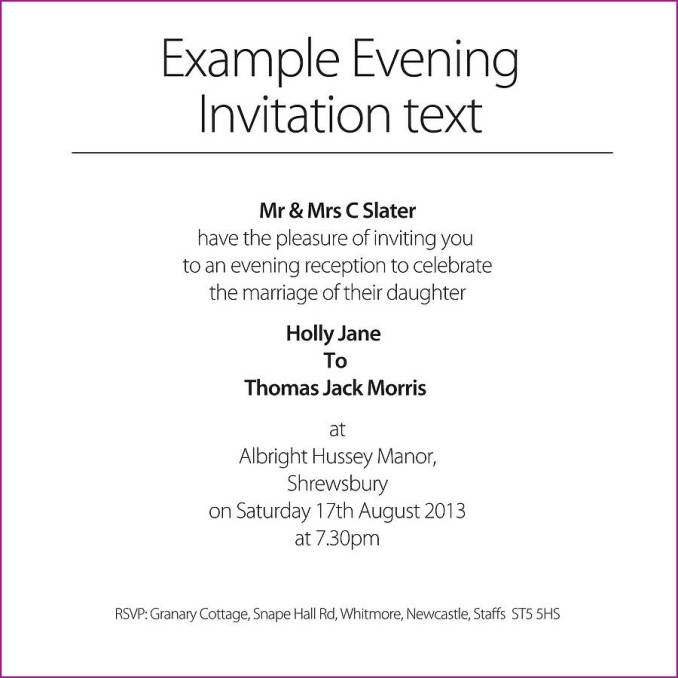 Invitations text examples newsinvitation love birds wedding invitation by the wild partridge card sample sunshinebizsolutionscom stopboris Images