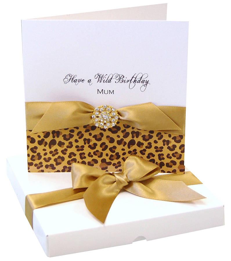 Cheetah Print Birthday Cards
