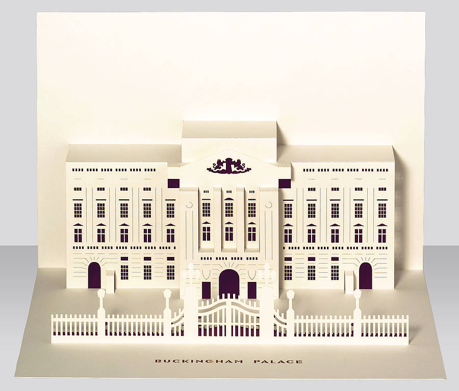 Buckingham Palace Pop Up Card By Paper Tango