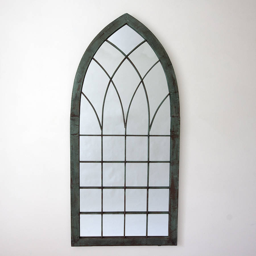 Garden Mirror Illusion Rustic Oak 7999