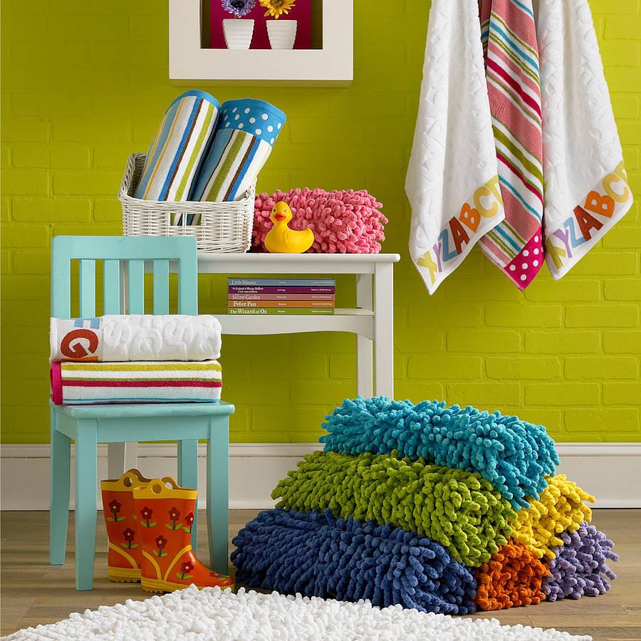child's bath rug by jodie byrne | notonthehighstreet
