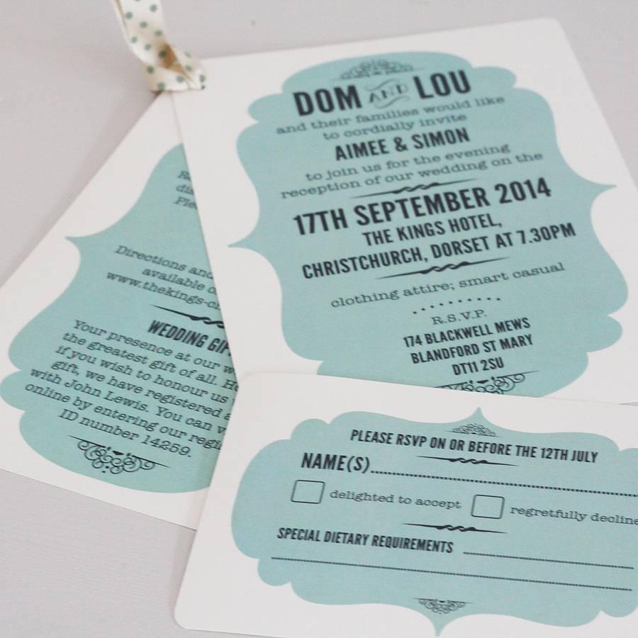 original_personalised vintage wedding day invitation?resize=665%2C665 john lewis wedding invitations wedding invitation,John Lewis Wedding Invitations Personalised