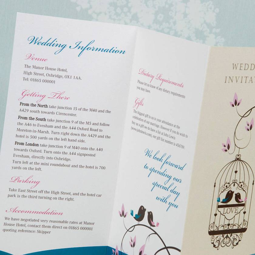 Wedding Invitation Printers East London Ideas
