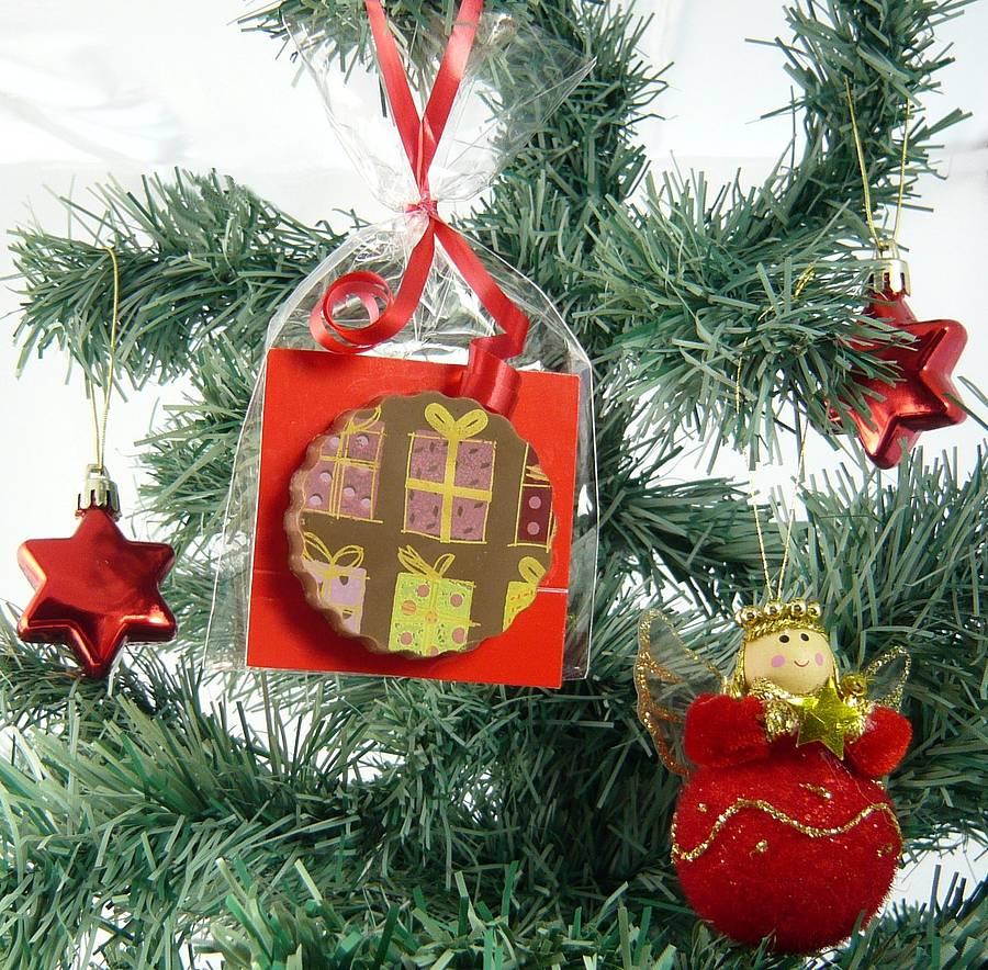 Christmas Tree With Lights Tesco: Christmas Tree Chocolate Decorations Tesco
