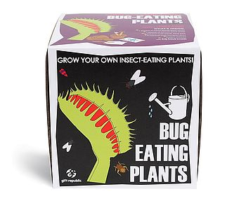 Sow And Grow Bug Eating Plant Unique And Quirky Gift Ideas Any Odd Person Will Appreciate (Fun Gifts!)