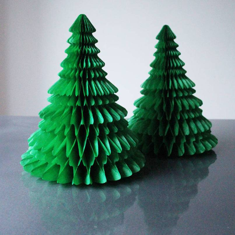 paper christmas tree decorating ideas elitflat