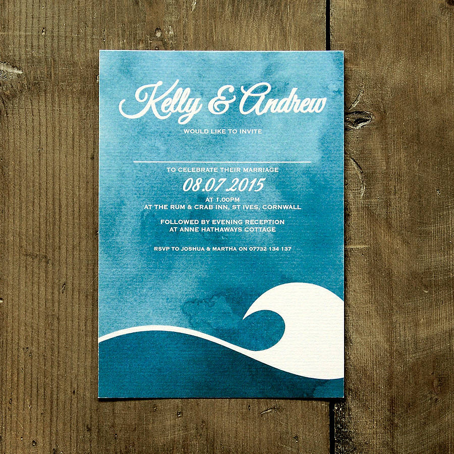 Original Wedding Invitations