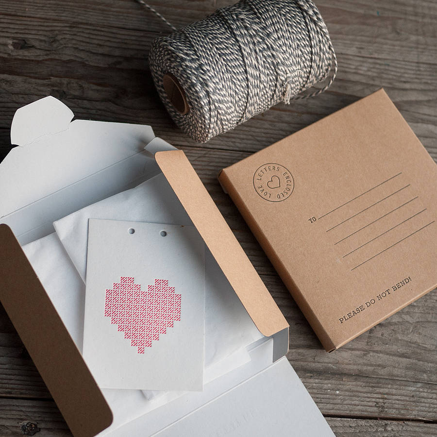 Marry Me Love Letter Card By Print For Love