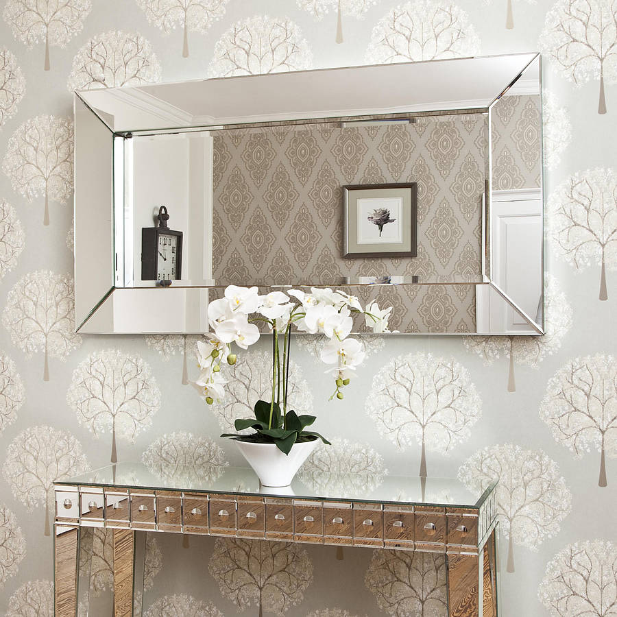 Wall Mirrors Large Framed Decorative