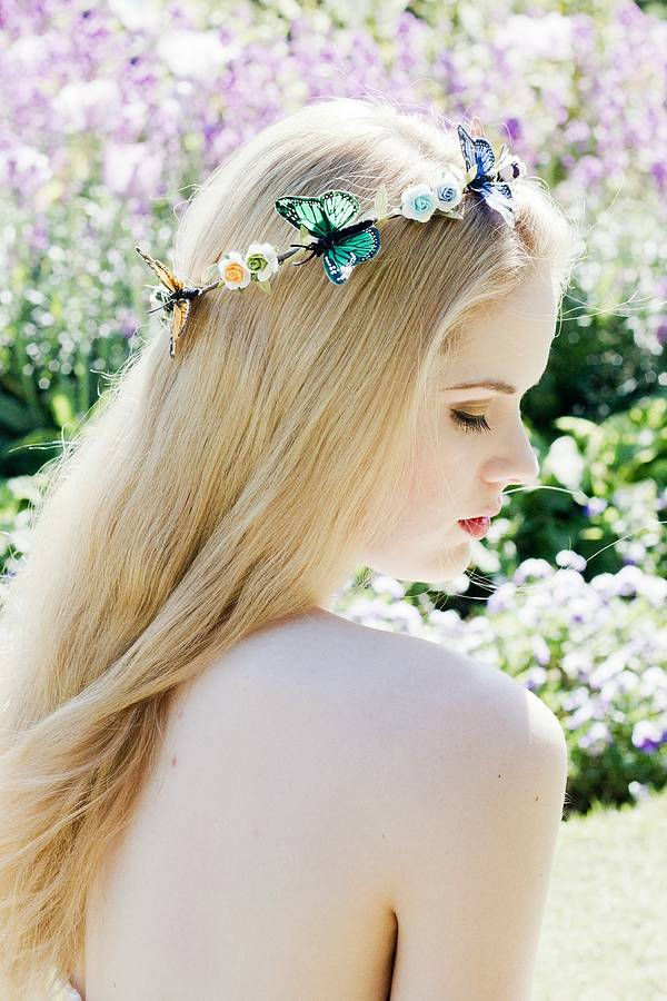 Butterfly Halo Flower Crown By Beauxoxo