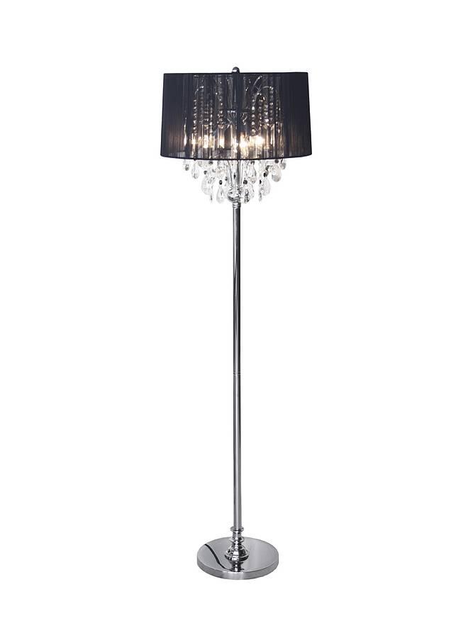 Crystal Chandelier Floor Lamp